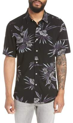 7 Diamonds There After Trim Fit Short Sleeve Sport Shirt