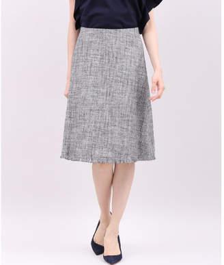 INED (イネド) - INED ラメツイードAラインスカート