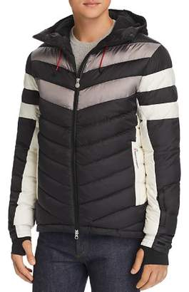 Perfect Moment Chatel Color-Block Down Jacket