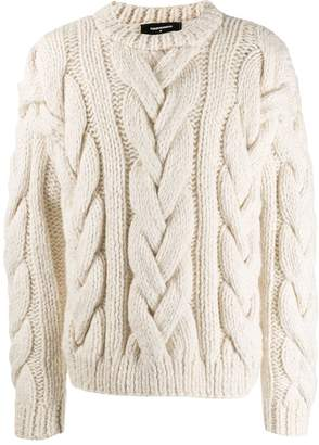 232075d8e3c Mens Chunky Cable Knit Jumper - ShopStyle UK