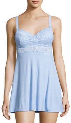 Cosabella Mommie Lace-Trim Maternity Babydoll $148 thestylecure.com