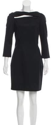 Diane von Furstenberg Slashed Arita Dress