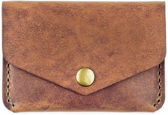 Winter Session Leather Snap Wallet