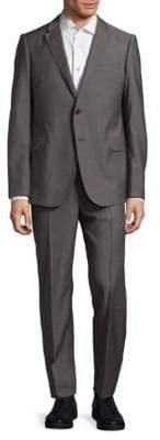 Armani Collezioni Textured Wool Suit