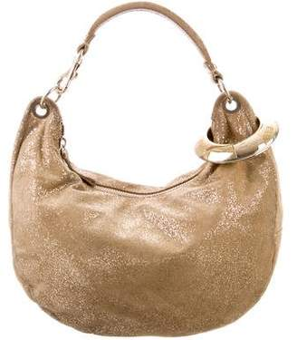 Jimmy Choo Metallic Hobo Bag