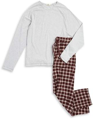 UGG Men's Cotton Top and Plaid Pants