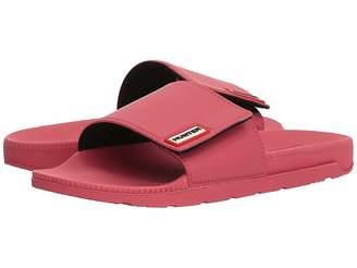 Hunter Adjustable Slide Women's Slide Shoes
