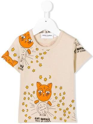 Mini Rodini Cat Advice shortsleeved T-shirt