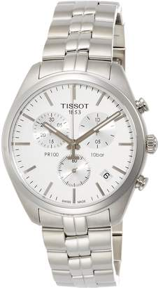 Tissot Men's T1014171103100 PR 100 Analog Display Swiss Quartz Watch