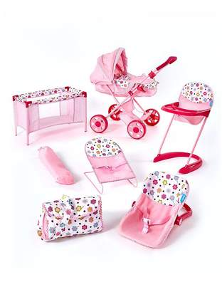 Hauck 8 In 1 Doll Play & Care Set