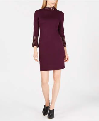 Calvin Klein Studded Sweater Dress
