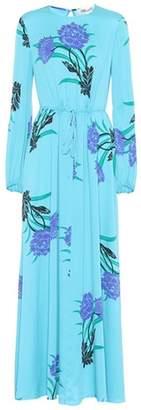 Diane von Furstenberg Floral-printed silk dress