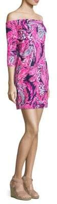 Lilly Pulitzer Laurana Off-The-Shoulder Dress
