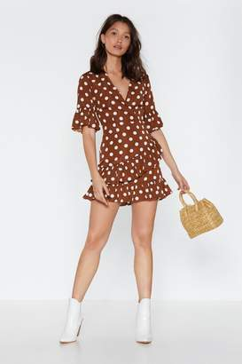 Nasty Gal You Dot This Polka Dot Dress