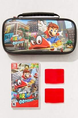 Nintendo Switch Mario Odyssey Travel Case Bundle