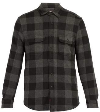 Faherty Buffalo Belmar Check Shirt - Mens - Grey Multi