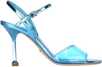 Prada Transparent Strap Sandals