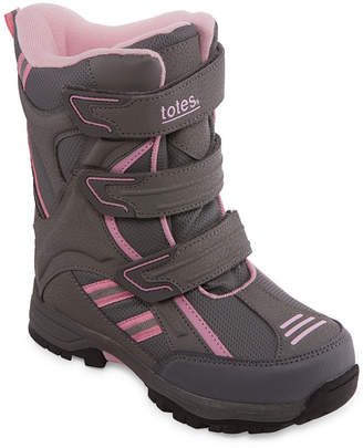 totes Little Kid/Big Kid Girls Rachael Water Resistant Winter Boots Strap