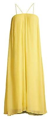 Mestiza New York Women's Paloma Pleated Chiffon Trapeze Dress