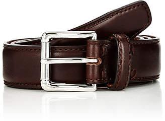 Barneys New York Men's Leather Belt - Brown