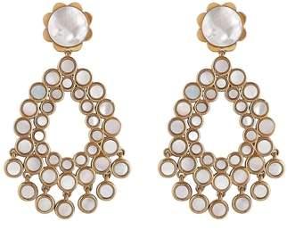 Asha Flower Chandelier Earrings