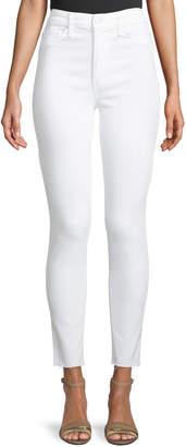 Joe's Jeans Charlie Ankle Skinny Jeans, White