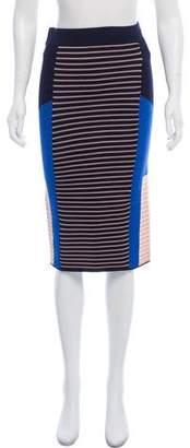 Jonathan Simkhai Ribbed Knee-Length Skirt