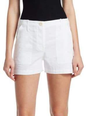 Theory Linen Cargo Shorts