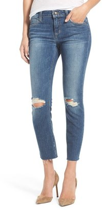 Joe's 'Icon' Distressed Crop Skinny Jeans (Teague) $185 thestylecure.com