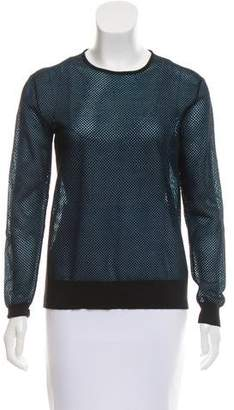 Tim Coppens Textured Long Sleeve Sweater
