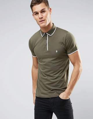French Connection Piping Polo Shirt