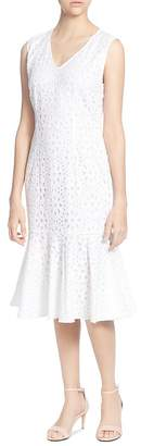 Catherine Malandrino Suz Eyelet Ruffle Dress
