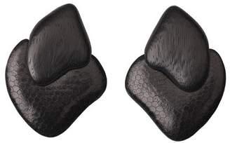 Josie Natori Acacia Wood Earrings