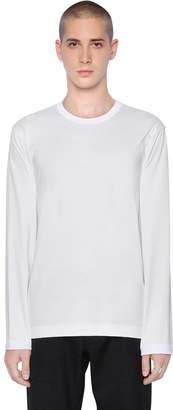 Comme des Garcons Cdg Essential Cotton Jersey T-Shirt