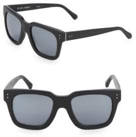 Linda Farrow Luxe Matte 52MM Square Sunglasses