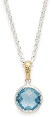 Gurhan Women's Topaz & 18K Goldplated Pendant Necklace