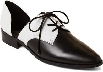 80eb786ab1 Nine West Black & White Watervelt d'Orsay Derby Shoes