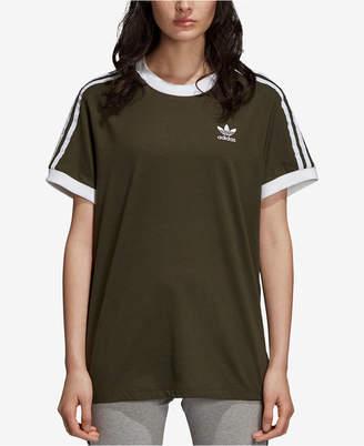 adidas Cotton Originals Adicolor 3-Stripe T-Shirt