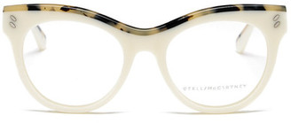 Stella McCartney Women&s Cat Eye Optical Glasses $400 thestylecure.com