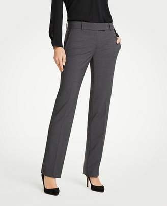 Ann Taylor The Straight Leg Pant In Tropical Wool