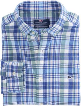 Vineyard Vines Fox Run Flannel Classic Tucker Shirt