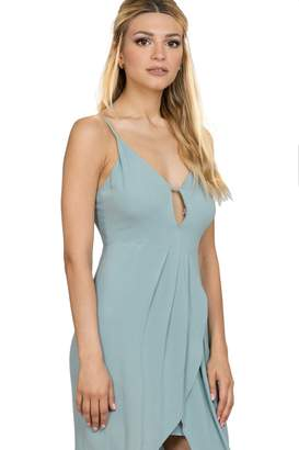 Ark & Co Women's V Neck Midi Dress