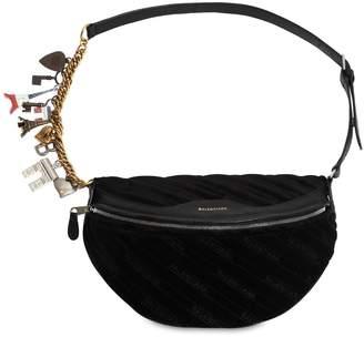 Balenciaga Velvet Belt Pack
