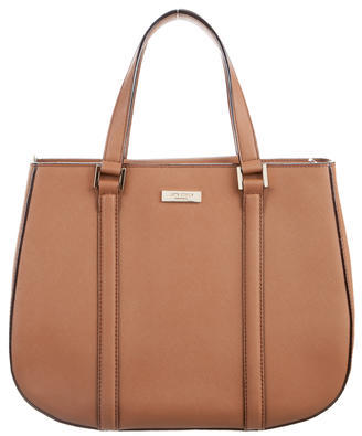 Kate Spade New York Leather Satchel $200 thestylecure.com