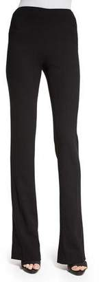 Ralph Lauren Collection High-Waist Boot-Cut Pants, Black $750 thestylecure.com
