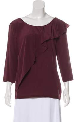 See by Chloe Long Sleeve Silk Top