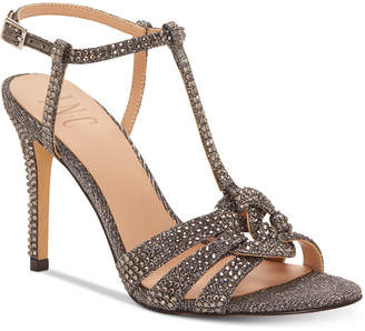 INC International Concepts I.n.c Rowyn Rhinestone Evening Sandals, Women Shoes