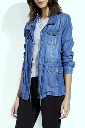 Simply Chic Lightweight Denim Jacket $39.95 thestylecure.com