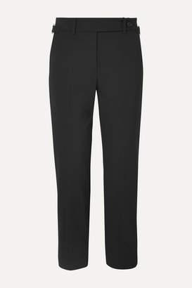 RED Valentino Grain De Poudre Tapered Pants - Black