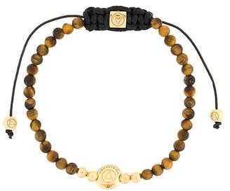 Northskull adjustable beaded bracelet